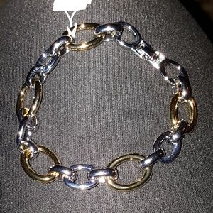 Lia Sophia Mixed Links Bracelet